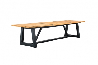 SUNS Ovada - Garden Table & Bench - SUNS Green Collection - 280x100cm