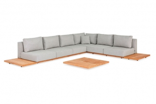 Lounge set - Aspen - Green collection - 6 parts