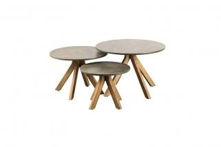 SUNS Lagos - Side tables - SUNS Grey Collectie