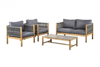 SUNS Bali - Sofa set - SUNS Grey Collection