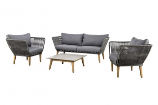 SUNS Corfu - Sofa set - SUNS Grey Collection