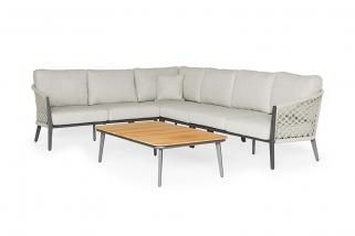 Lounge set – Salento – Orange collection – 5 parts