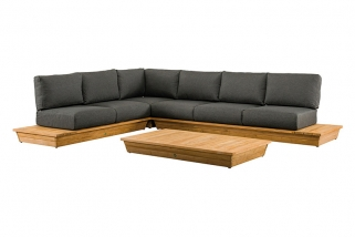 SUNS Isla - Lounge set - SUNS Green Collection - 4 parts