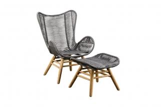 SUNS Kreta - Lounge chair - SUNS Grey Collection