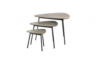 SUNS Kos - Side tables - SUNS Grey Collection