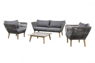 SUNS Corfu - Sofa set - SUNS Grey Collection