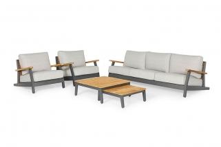 Sofa set – Siena – Yellow collection – 5 parts