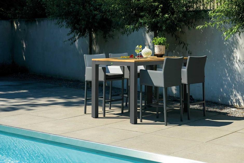 Bar set – Sense – Green collection – Antas bar stool