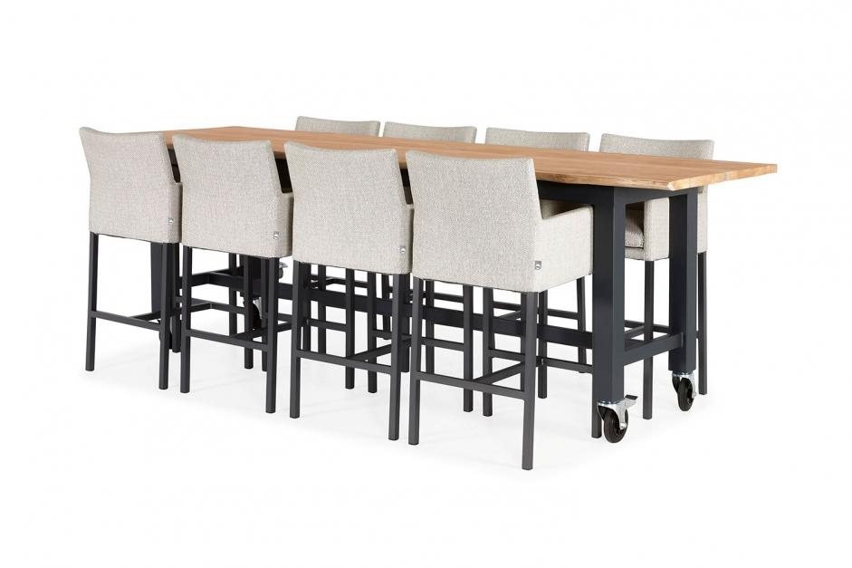 Barchair – Antas – Red collection – Vasto bar table