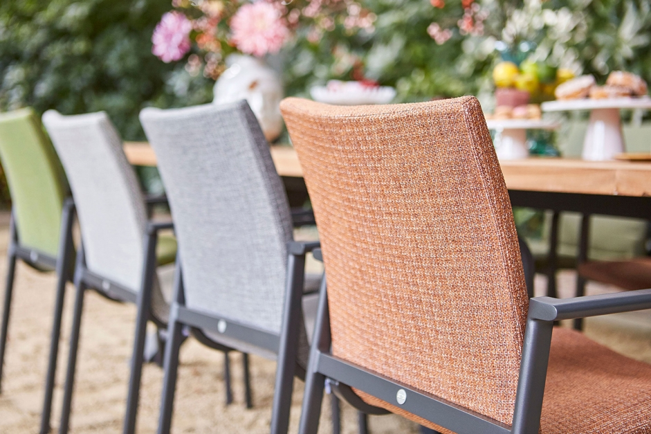 Dining chair – Anzio – Orange collection
