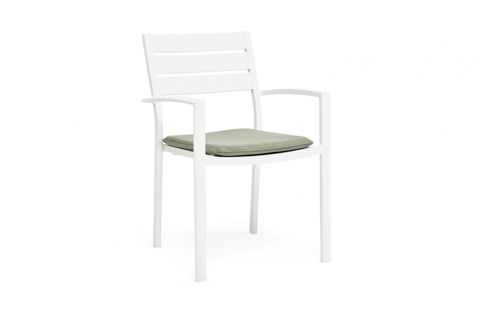 Dining chair with cushion – Pizzo – Yellow collection