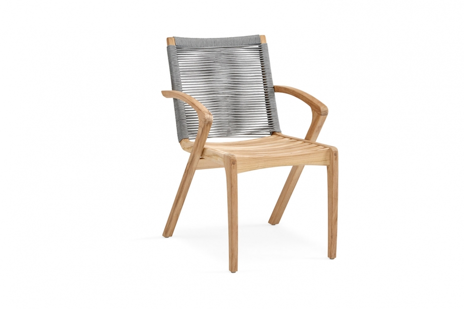 Dining chair - Plato - Grey collection