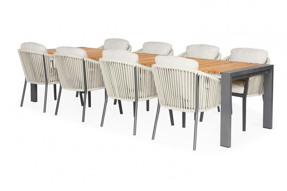 Dining chair – Avero – Orange collection – Rialto garden table