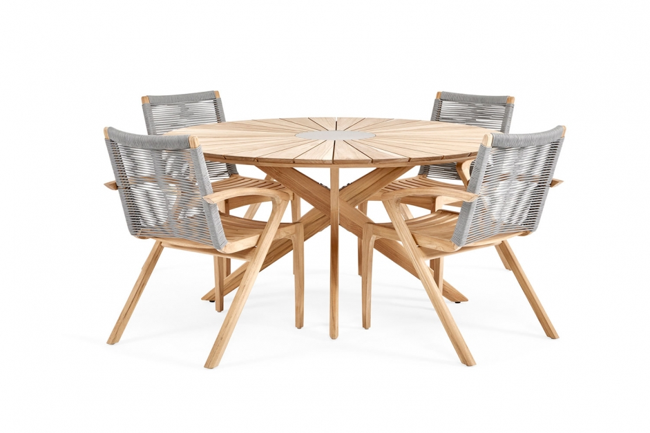 Dining table - Plato - Grey collection